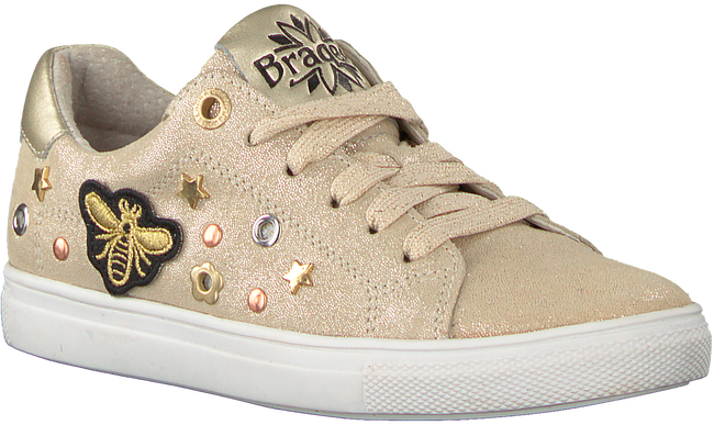 Goldfarbene BRAQEEZ Sneaker LEXI LOUWIES  - large
