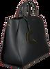 Schwarze COCCINELLE Handtasche CONCRETE 1802  - small