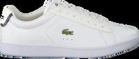 Weiße LACOSTE Sneaker CARNABY EVO DAMES  - medium