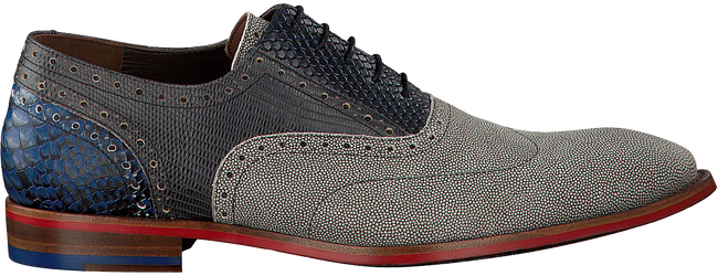 Graue FLORIS VAN BOMMEL Business Schuhe 19114 - large