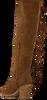 Cognacfarbene VERTON Hohe Stiefel SKE08  - small