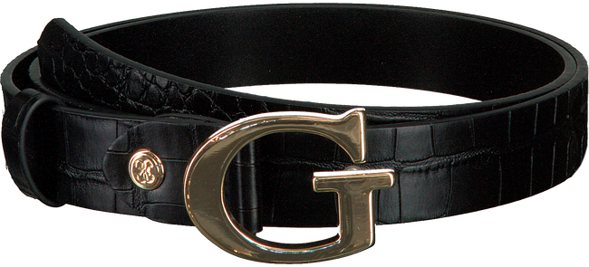 Schwarze GUESS Gürtel MADDY ADJUSTABLE BELT  - large
