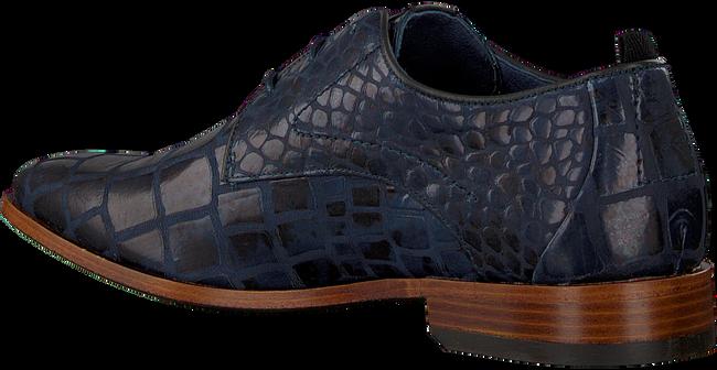 Blaue REHAB Business Schuhe GREG CROCO DUO  - large