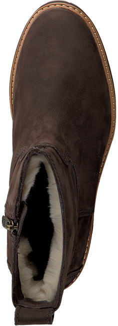Braune TIMBERLAND Ankle Boots COURMAYEUR VALLEY FAUX FUR  - large