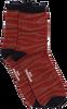 Braune BECKSONDERGAARD Socken ZEBRA GLITZI SOCK  - small