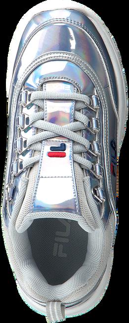 Silberne FILA Sneaker STRADA LOW KIDS  - large