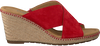 Rote GABOR Pantolette 829 - small