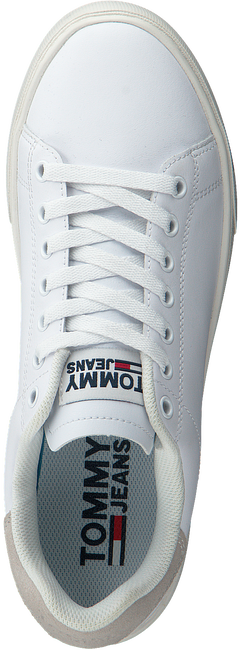 Weiße TOMMY HILFIGER Sneaker low ESSENTIAL TOMMY JEANS  - large
