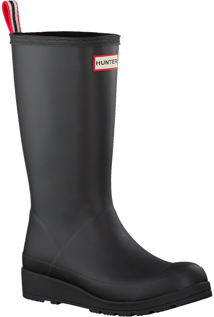 Schwarze HUNTER Gummistiefel PLAY BOOT TALL - large