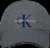 Graue CALVIN KLEIN Kappe J MONOGRAM CAP M  - small