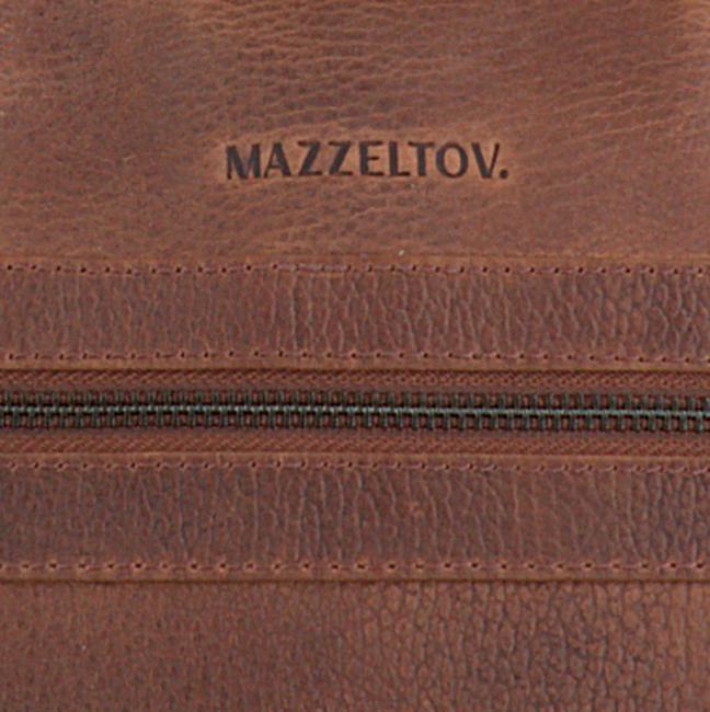 Braune MAZZELTOV Laptoptasche 18296  - large