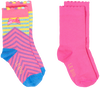 Mehrfarbige/Bunte LE BIG Socken NIENKE SOCK 2 PACK  - small