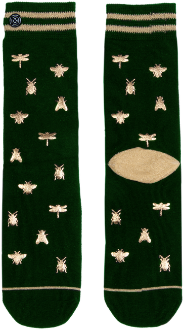 Mehrfarbige/Bunte XPOOOS Socken INSECTS  - large
