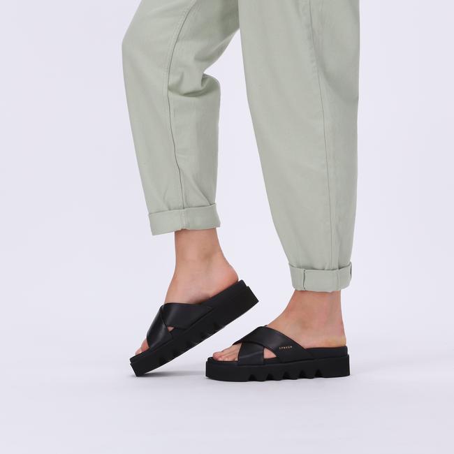 Schwarze COPENHAGEN STUDIOS Pantolette CPH706  - large