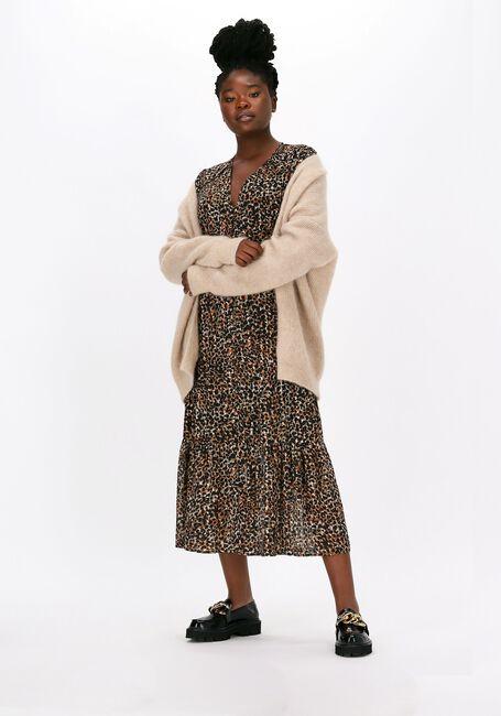 Mehrfarbige/Bunte SECOND FEMALE Maxikleid ERNA FITTED DRESS  - large