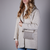 Graue BY LOULOU Umhängetasche 10BAGXL119S - small