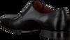 Schwarze GREVE Business Schuhe MAGNUM 4453  - small