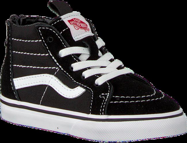 Schwarze VANS Sneaker TD-SK8-HI ZIP  - large