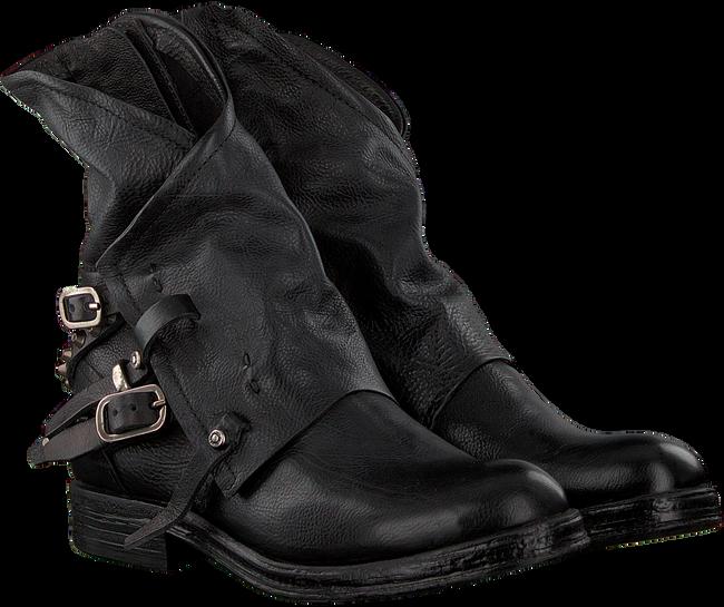 Schwarze A.S.98 Biker Boots 207235 19  - large