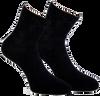 Schwarze MARCMARCS Socken ALEXIA - small