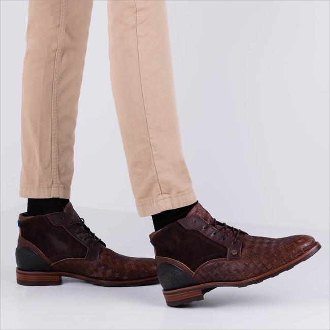 Braune REHAB Business Schuhe LENNON KRIS KROS  - large