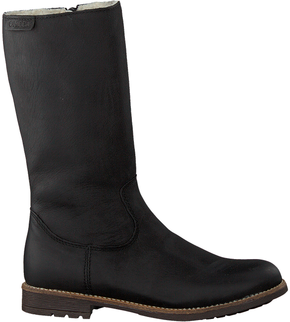 Schwarze OMODA Hohe Stiefel OM119601  - large