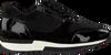 Schwarze HASSIA Sneaker MADRID  - small