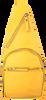 Gelbe EST'SEVEN Umhängetasche EST' LEATHER BAG MIREL  - small