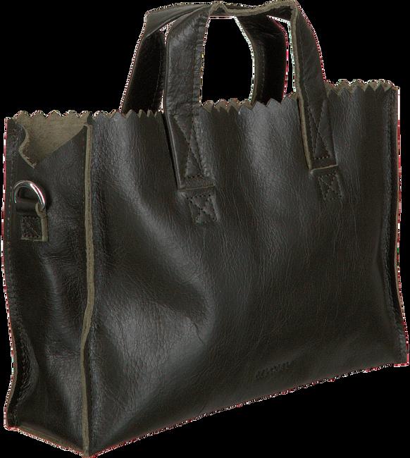 Schwarze MYOMY Umhängetasche MY PAPER BAG HANDBAG MINI  - large