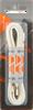 Weiße RINGPOINT Schnürsenkel 65 VETER PLAT WAX 90 CM  - small