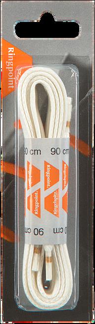 Weiße RINGPOINT Schnürsenkel 65 VETER PLAT WAX 90 CM  - large