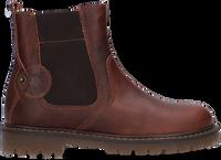 Cognacfarbene DEVELAB Chelsea Boots 41961  - medium