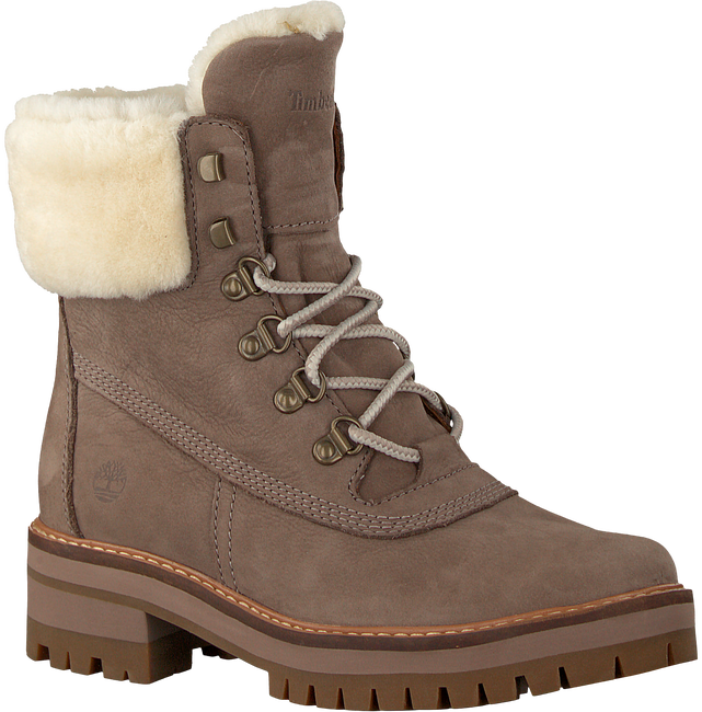 Taupe TIMBERLAND Schnürboots COURMAYEUR VALLEY SHEAR - large