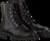 Schwarze HIP Biker Boots H1697 - small