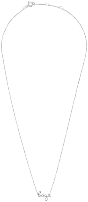 Silberne ALLTHELUCKINTHEWORLD Kette URBAN NECKLACE BOYS - large