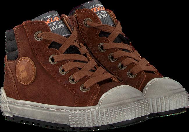 Cognacfarbene DEVELAB Sneaker high 41609  - large