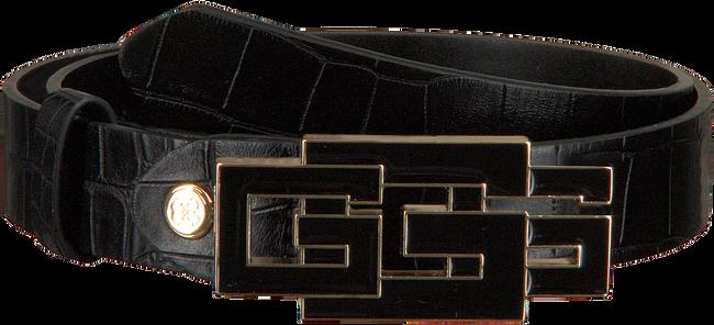 Schwarze GUESS Gürtel TRIPLE G ADJUSTABLE PANT BELT  - large