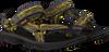 Gelbe TEVA Sandalen HURRICANE XLT 2 C/T/Y - small