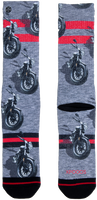 Mehrfarbige/Bunte XPOOOS Socken MOTOR  - medium