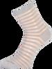 Silberne MARCMARCS Socken GEORGINA - small