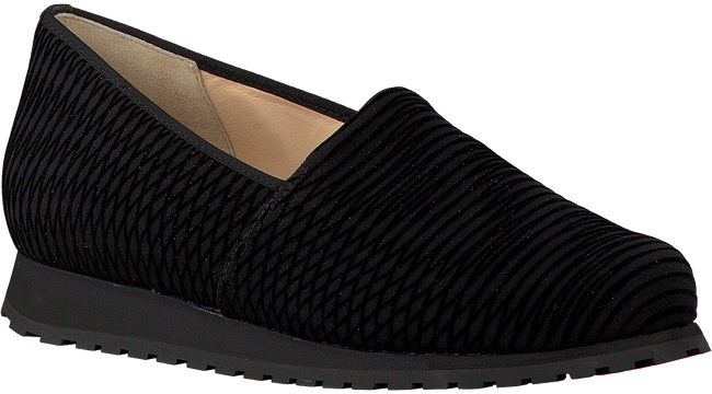 Schwarze HASSIA Slipper 1688 - large