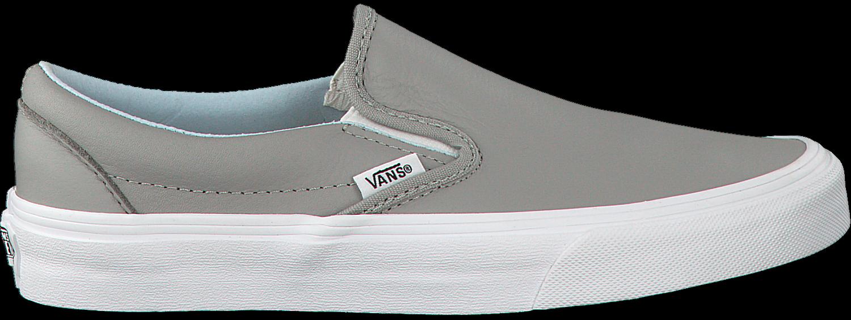 Graue VANS Slip-on Sneaker CLASSIC SLIP ON WMN - Omoda