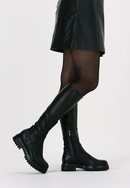 Schwarze OMODA Hohe Stiefel C0358  - large