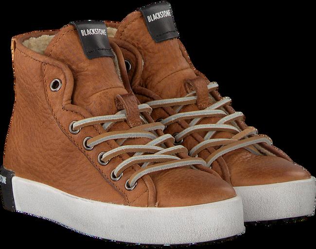 Cognacfarbene BLACKSTONE Sneaker QK76 - large