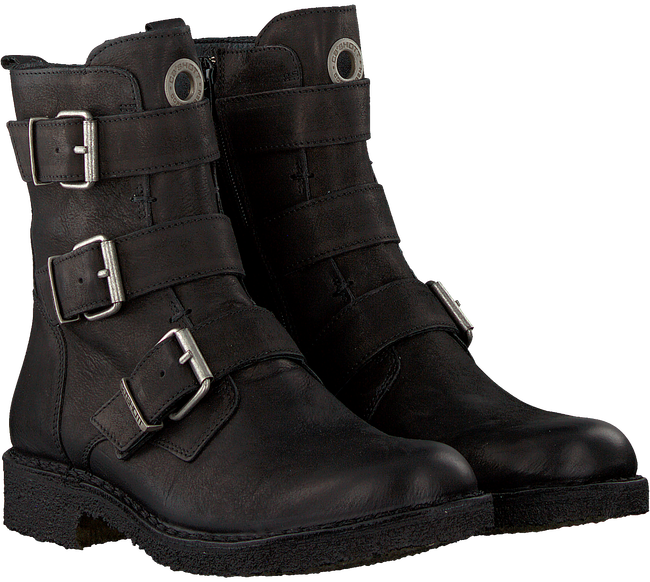 Schwarze CA'SHOTT Biker Boots 22042  - large