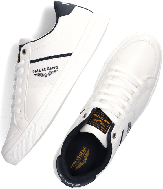 Weiße PME Sneaker low ECLIPSE  - large