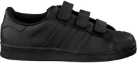 Schwarze ADIDAS Sneaker SUPERSTAR FOUNDATION - medium