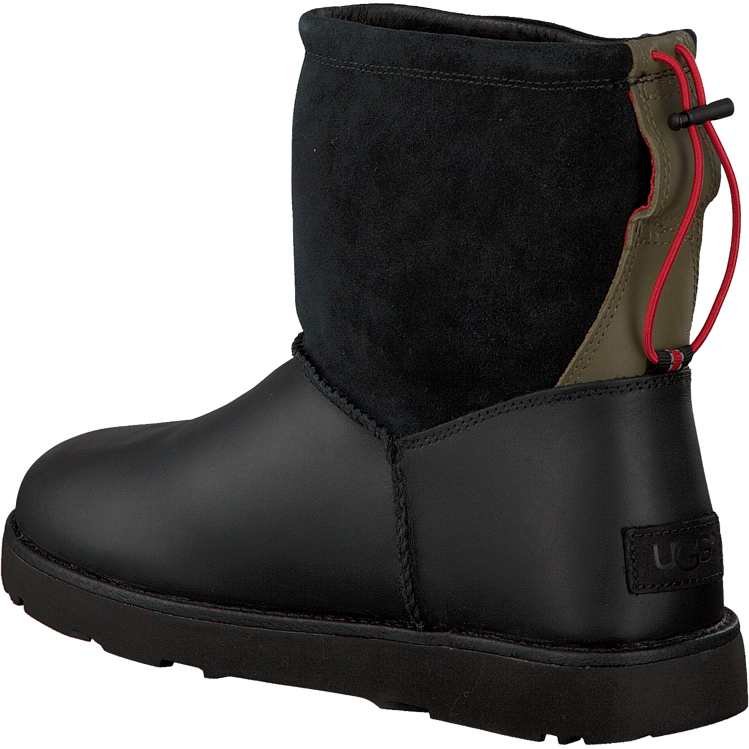 schwarze ugg ankle boots classic toggle waterproof jetzt. Black Bedroom Furniture Sets. Home Design Ideas
