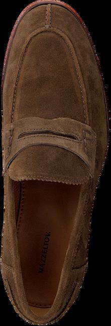 Cognacfarbene MAZZELTOV Slipper 5401  - large
