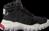 Schwarze RED-RAG Sneaker high 13117  - medium